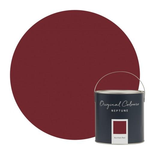 Neptune Eggshell Waterbased Pot 125ml - Burnham Red