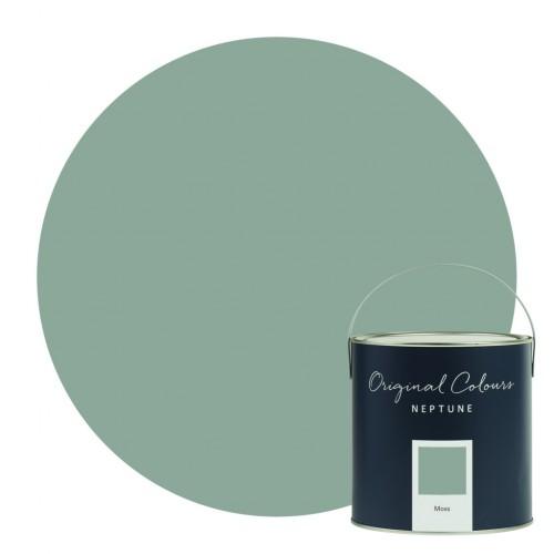 Neptune Eggshell Waterbased Pot 125ml - Moss