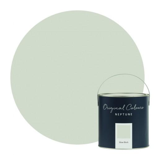 Neptune Eggshell Waterbased Pot 125ml - Silver Birch