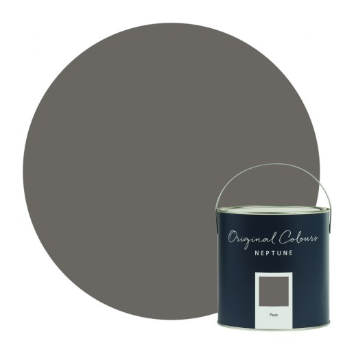 Neptune Eggshell Waterbased Pot 125ml - Peat