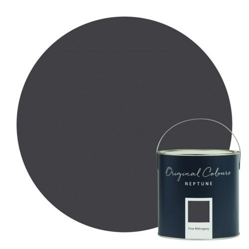 Neptune Eggshell Waterbased Pot 125ml - Fine Mahogany