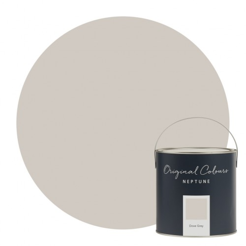 Neptune Eggshell Waterbased Pot 125ml - Dove Grey