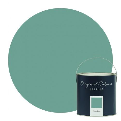 Neptune Eggshell Waterbased Pot 125ml - Aqua Blue