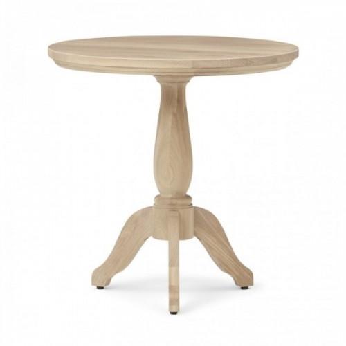 Henley 60 Round Side Table - Oak