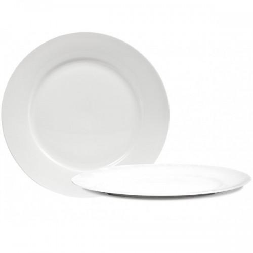Fenton Bone China Charger - Plain White