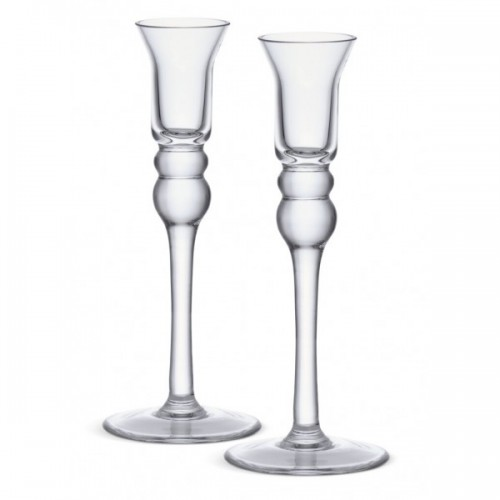 Rosedale 200 Glass Candlestick - Set of 2