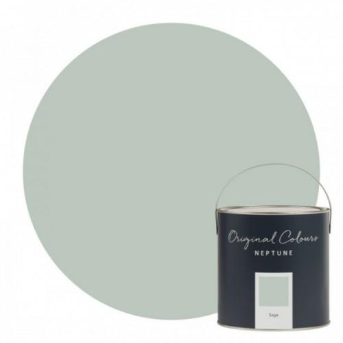 Neptune Eggshell Waterbased Pot 125ml - Sage