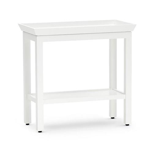 Aldwych 56 Rectangular Side Table - Snow