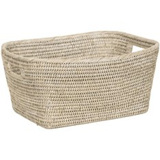 Ashcroft Square Basket 40x32.5cm - Silver Reed