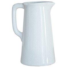 Corinium Small Jug Vase - White