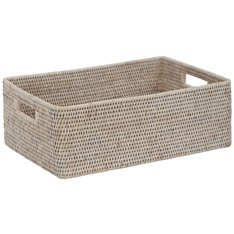 Ashcroft Rectangular Box Tray 43x31cm - Silver Reed