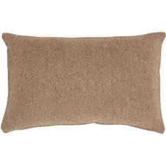 Grace Scatter Cushion Cover 55x35cm - Harris Tweed Marmalade
