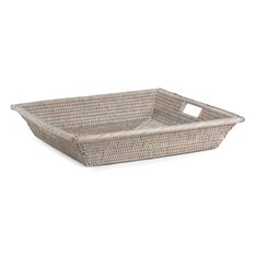 Ashcroft Square Tray, Small - Silver Reed