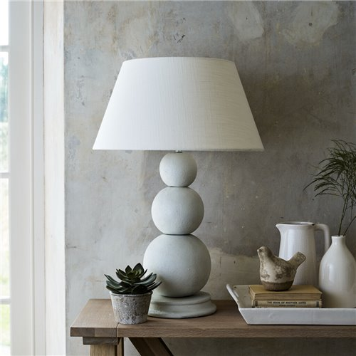 Bloomsbury Shingle Concrete Lampstand - Small