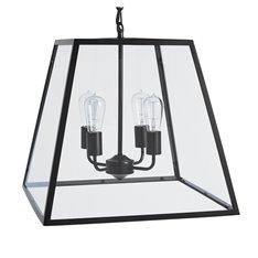 Browning Lantern Pendant - Large - Bronze