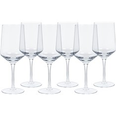 Hoxton Red Wine Glasses - Set of 6