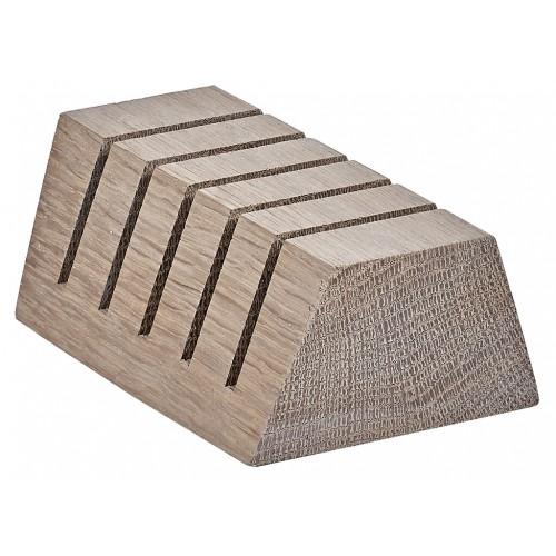 Orford Knife Block - Seasoned Oak