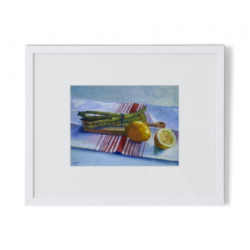 Pantry Aspargus and Lemons