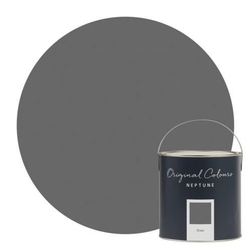 Neptune Eggshell Waterbased Pot 125ml - Shale