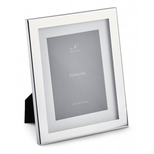 Porter 5x7  Silver Plated Photo Frame