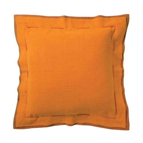 Coussin carré col. orange-terracotta, dim.40x40cm, PIERRE FREY