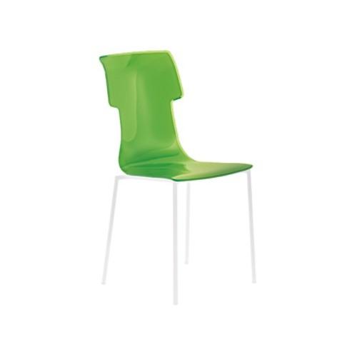 Chaise My Chair col.44 vert de Guzzini